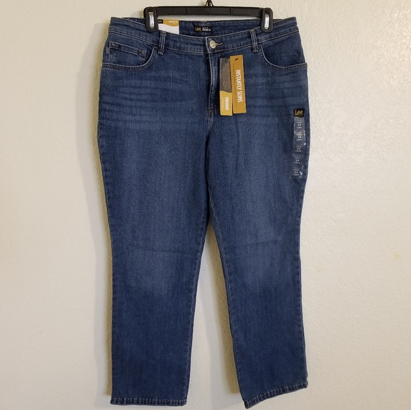 Lee Denim - Lee Classic fit straight leg size 14